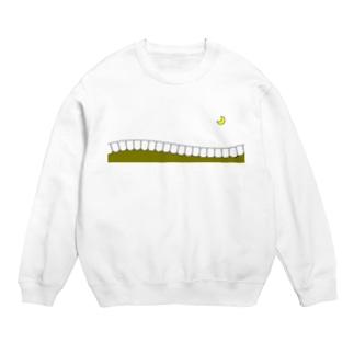 歯-HA yellow スウェット