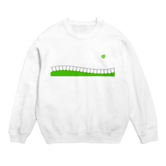 歯-HA green スウェット