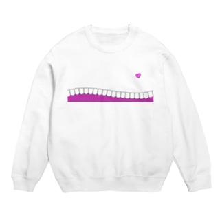 歯-HA pink スウェット
