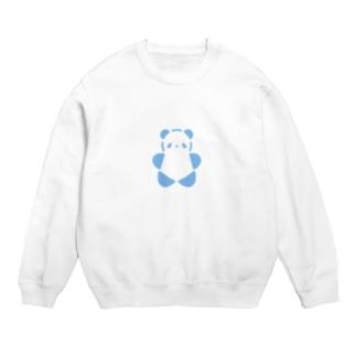SIROPANDAワンポイント(大)(Blue) Sweats