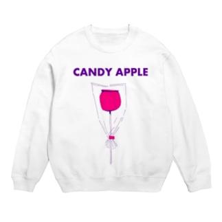 祭りデザイン「りんご飴」 Sweats