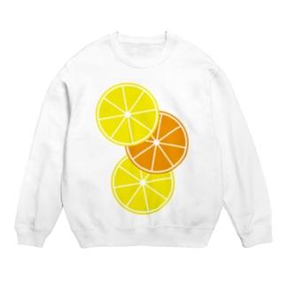 レモンとオレンジ Sweats