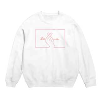 SIRO%(しろぱーせんと)の指ハート(Red) Sweats
