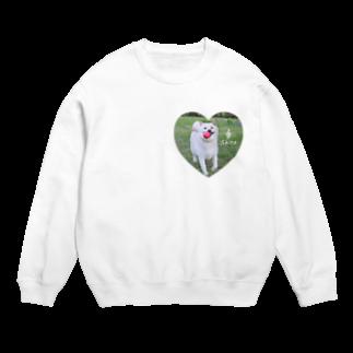 y.shioriの白柴シロのハートTシャツ Sweats
