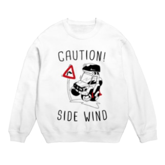 CAUTION! SIDE WIND Sweats