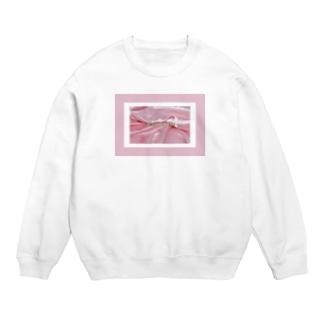 SWEET ROOM pink satin  Sweats