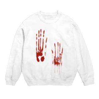 血塗られた手形シリーズ Sweats