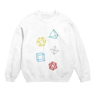 Regular Polyhedron Sweats