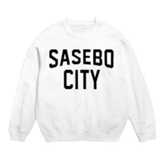 SASEBO CITY 佐世保ロゴ Sweats