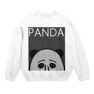 PANDA(グレイ) スウェット