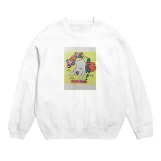 skater   owl Tシャツ Sweats