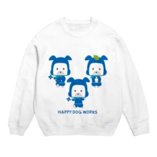 HAPPY DOG WORKS 忍者_集合A スウェット