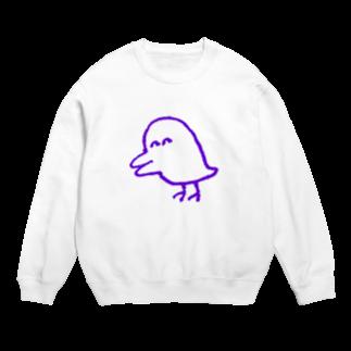 akiocoの害鳥(透明) Sweats