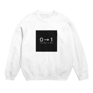 0→1ロゴ Sweats
