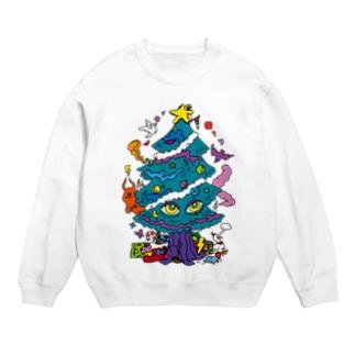 CALL MOLA 《Christmas tree》 Sweats
