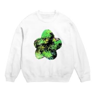 緑の花 Sweats