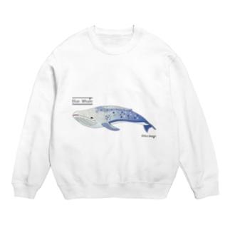 夢見るシロナガスクジラ スウェット