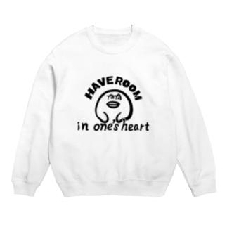 心に余裕のある服 Sweats