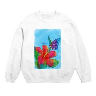 蜜を吸うアゲハ蝶 Sweats