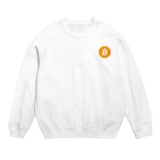 Bitcoin ビットコイン スウェット