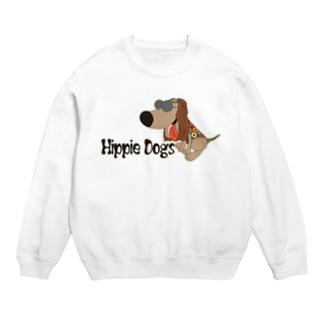 Hippie dogs 枠付 Sweats