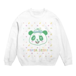 パンダでし。 Sweats