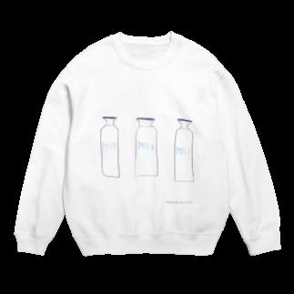 Katanokemusiの牛乳びん Sweats