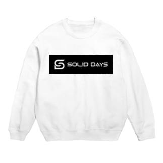SOLID DAYS 2019 ボックスロゴ Sweats