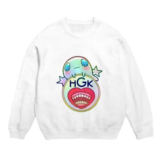 Gummy×HGK logo Sweats