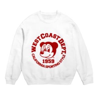 WEST COAST 1959 RED Sweats