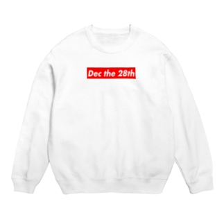 Dec the 28th(12月28日) Sweat