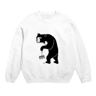 カエリマス マレーグマ 昭和レトロ熊動物イラスト B Sweats