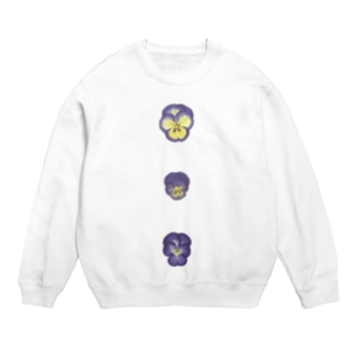 Viollerina Flower Buttons  Sweats