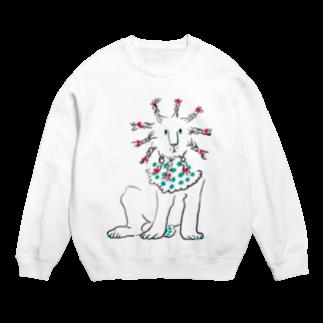 mya-mya=MIYA JUNKO's shop 02のBraided lion Sweats