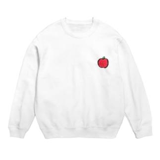 まん丸 りんご Sweat