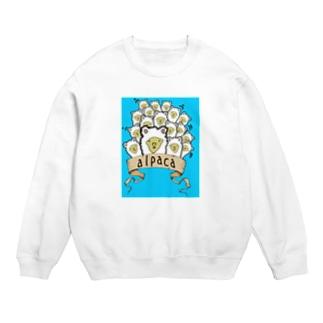 おもしろアルパカTシャツ Sweats