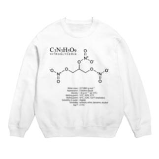 ニトログリセリン:爆発・爆薬:化学:化学構造・分子式 Sweats
