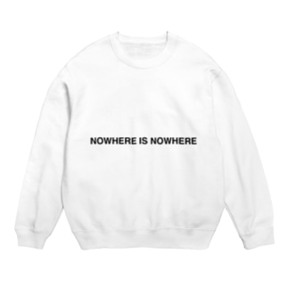 NOWHERE IS NOWHERE Sweats
