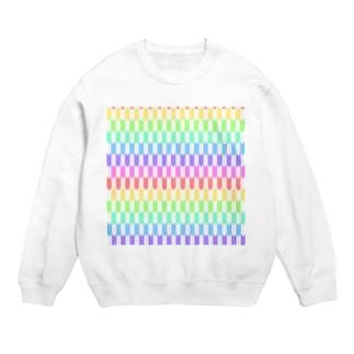 Yagasuri(Pastel Rainbow) Sweats