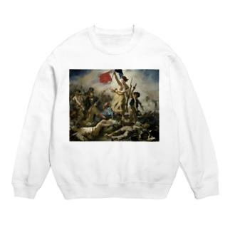 民衆を導く自由の女神 / ウジェーヌ・ドラクロワ(La Liberte guidant le peuple 1830) Sweats