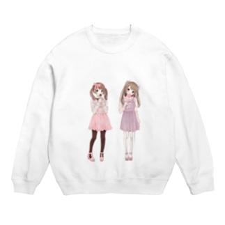 Two girls スウェット