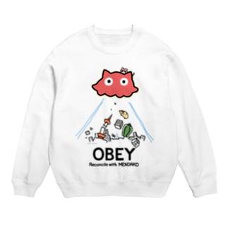 めんだこちゃん OBEY (淡色用)  Sweats