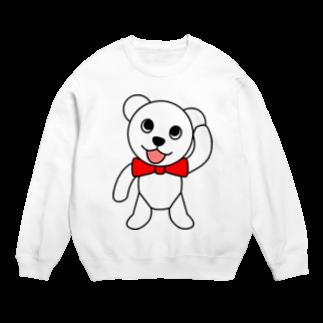 スタンプグッズ販売店のしろくまペロちゃんスウェットシャツ Sweats