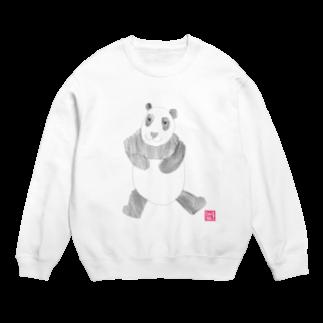 ★いろえんぴつ★のパンダさん スウェット