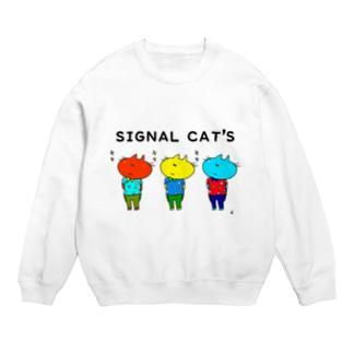 SIGNAL CAT'S スウェット