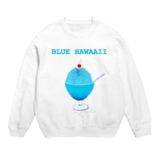 かき氷デザイン「ブルー・ハワイ」 Sweats