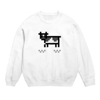 牛のTシャツ屋のpixel cow Sweats
