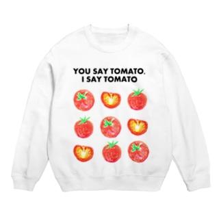トマトデザイン「埒が明かない」 Sweats