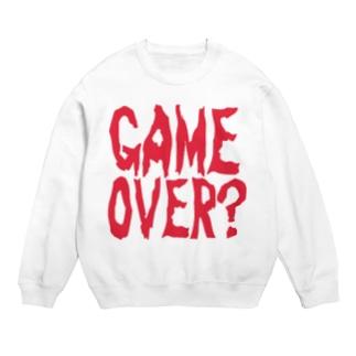 GAME OVER?〜ホラーver〜 スウェット