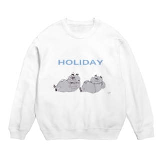 HOLIDAY ねこ Sweats